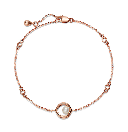 智慧之眼新版万博客户端下载红18k金珍珠手链