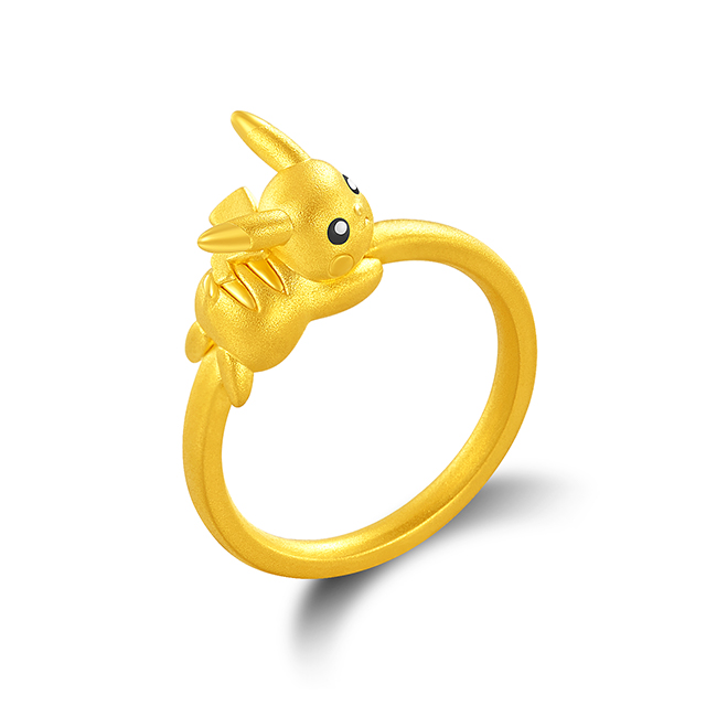 CHJ精灵宝可梦黄金PC戒指